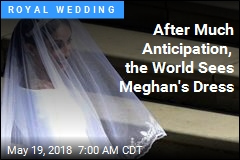 After Much Anticipation, the World Sees Meghan's Dress