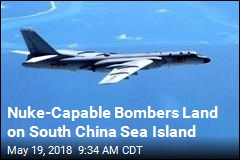 China Lands Nuke Bomber on South China Sea Island