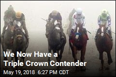 We Now Have a Triple Crown Contender
