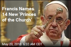 Francis Names 14 New 'Princes of the Church'