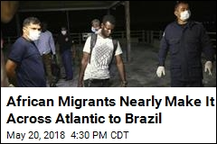 25 African Migrants Rescued at Sea Off Coast of Brazil