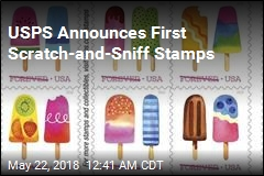 USPS Announces First Scratch-and-Sniff Stamps