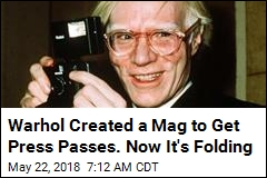 After Nearly 50 Years, Andy Warhol's Interview Shutters