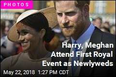 Harry, Meghan Attend First Royal Event as Newlyweds