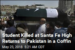 Student Killed at Santa Fe High Returns to Pakistan in a Coffin