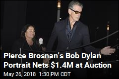 Pierce Brosnan's Bob Dylan Portrait Nets $1.4M at Auction