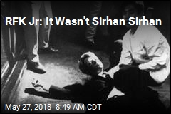 RFK Jr: It Wasn't Sirhan Sirhan