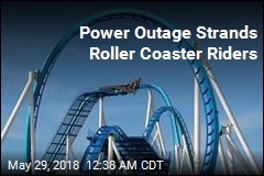 Power Outage Leaves Roller Coaster Riders Stuck for 2 Hours