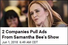 2 Companies Pull Ads From Samantha Bee's Show