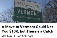 A Move to Vermont Could Net You $10K, but There's a Catch