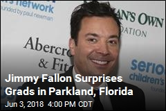 Jimmy Fallon Surprises Grads in Parkland, Florida