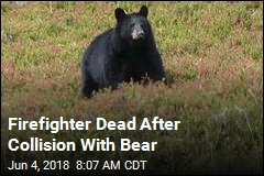 Firefighter Dead After Collision With Bear
