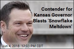 Contender for Kansas Governor Blasts 'Snowflake Meltdown'
