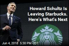 Howard Schultz Leaving Starbucks, Doesn't Rule Out White House Run