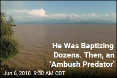 Crocodile Kills Pastor During Mass Baptism