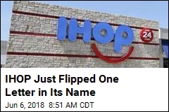 IHOP Just Flipped One Letter in Its Name