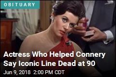 First 'Bond Girl' Dead at 90