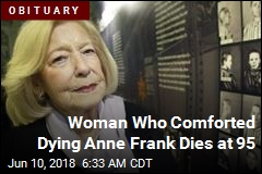 Woman Who Comforted Dying Anne Frank Dies at 95
