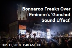 'Gunshot Sound Effect' Causes Panic at Eminem Gig
