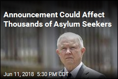 Sessions: Domestic Violence Not Grounds for Asylum