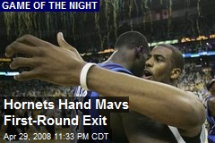 Hornets Hand Mavs First-Round Exit
