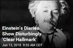 Einstein's Diaries Show One Can Be Smart and Racist
