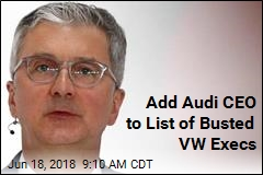 Add Audi CEO to List of Busted VW Execs