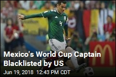 Drug Lord Links Cloud Mexico Captain's World Cup Feat
