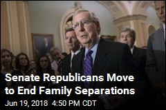 Senate Republicans Say They'll End Family Separations