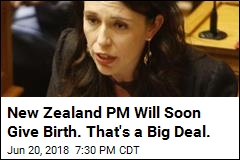 New Zealand's PM Arrives at Hospital to Give Birth