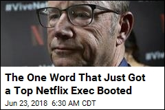 Out at Netflix: Top Spokesman Who Used N-Word