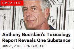 French Prosecutor Reveals Bourdain Toxicology Report