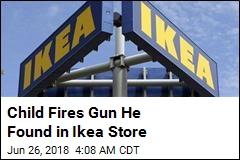 Cops: Child Finds Gun in Ikea Store, Fires Shot