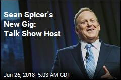 Sean Spicer Is Working on a TV Talk Show