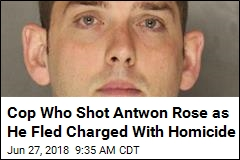 Cop Who Shot Antwon Rose as He Fled Charged With Homicide