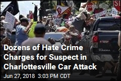 Suspect in Charlottesville Car Attack Charged With Hate Crime