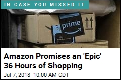 Amazon Promises This Year's Prime Day Will Be 'Epic'