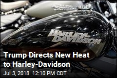 Trump: With Harley Moving Out, We'll Lure Foreign Firms Here
