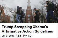 White House to Ditch Obama Affirmative Action Guidelines