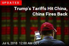 Trump's Tariffs Hit China