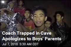 Coach Trapped in Cave Apologizes to Boys' Parents