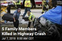 5 Killed in Grisly Delaware Car Crash