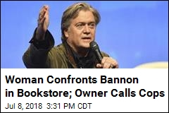 Steven Bannon Bookstore Visit Leads to 911 Call