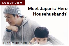 Meet Japan's 'Hero Househusbands'