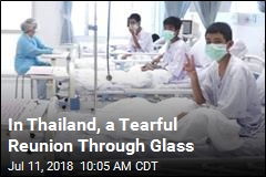 In Thailand, a Tearful Reunion Through Glass