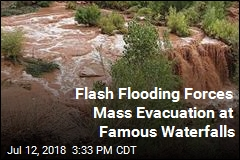 Flash Flooding Forces Hundreds of Evacuations Near Grand Canyon