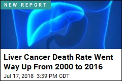 In 16 Years, a Dramatic Increase in Liver Cancer Death Rate