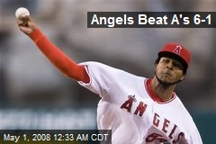 Angels Beat A's 6-1