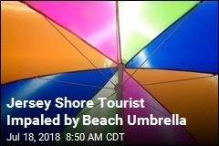Jersey Shore Tourist Impaled by Beach Umbrella