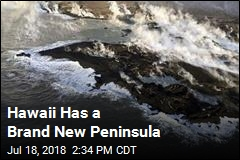 Hawaii Has a Brand New Peninsula